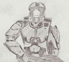 Halo Wars Spartan by MechSquadron
