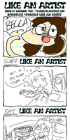 Yuumei's Like an Artist Meme by PhandomMom