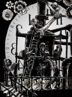 Inside the CLock Tower by FWACATA