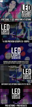 Led Lights Generator PS Actions Preview by Grasycho