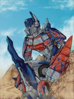 -Optimus Prime- by RizyuKaizen