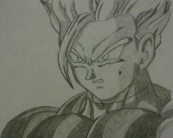 Adult Gohan (SS2) by Thecrcker