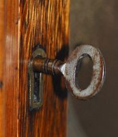 The Rusty Key by Forestina-Fotos