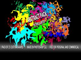 Abstract Pack 1 by thelilartist