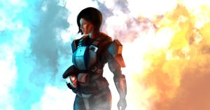 Jane the ODST by jose144