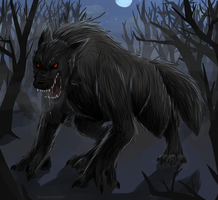 Werewolf by darndragon