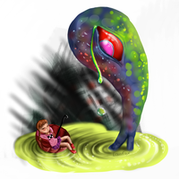 Yume Nikki - Lonely Alien by Equifox