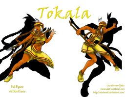 Action Pose Layout 3 Tokala by Velairennil