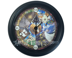 The Wings of Time - Chrono Trigger Wall Clock by Esclair-Studios