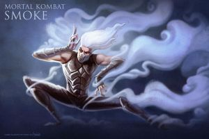 MORTAL KOMBAT - Smoke by hamex