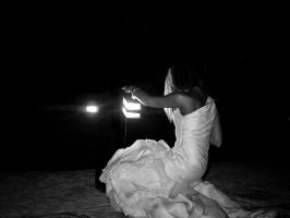 bride in the light by aaroffy