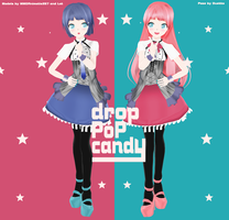 .:MMD Newcomer:. LAT Drop Pop Candy Models by MMDAnimatio357
