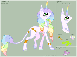 MLP - Crystal Key Reference Sheet by porcelian-doll