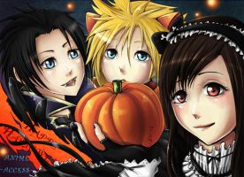 FFVii Halloween by psyAlera
