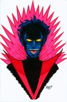 Nightcrawler Headshot Colored by RichBernatovech