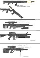 Military Weapon Variants 59 by Marksman104