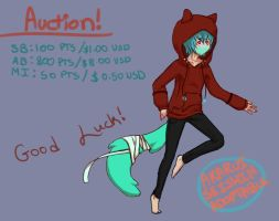mint fox auction open! by Aka-Rui