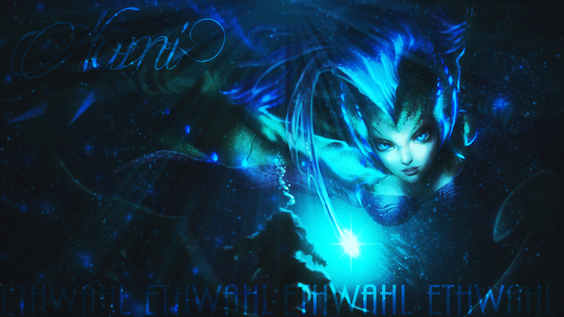 Deep Sea Nami Background by Ethwahl