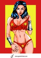 Wonder Girl 3 by Garrett Blair by Mythical-Mommy