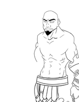 Kratos WIP by tbowe321
