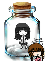 YN: Monoe in a bottle by YN-Monoe