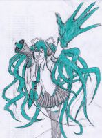 Hatsune Miku ! by InvictusSanguis