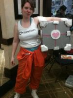 Chell from Portal 2 by RoseNightshade