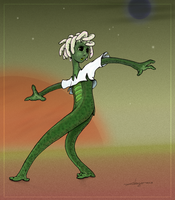 Zola the Gorgon (from The Order of the Red Star) by Aleayo