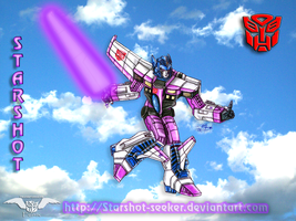 Starshot the Autobot seeker by Starshot-seeker