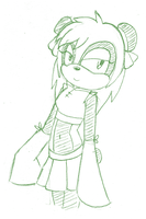 -Request- Kimiko the Panda by SonicsBestGal
