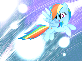 Rainbow Dash Wallpaper by HeavyMetalBronyYeah