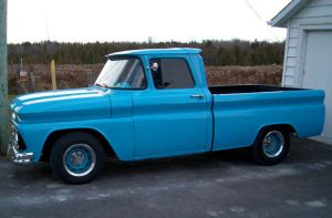 Light blue Chevy pickup 3 by Ripplin
