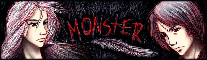 Commission: Monster Banner by xx--ingie--xx