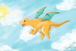 Dragonite's Epicness by tourettesz
