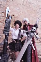 Dante and Lady Mary Devil May cry by LeydaCosplay