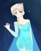 Elsa fanart by WishyRish
