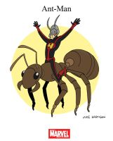 Mighty Marvel Month of March - Ant-Man by tyrannus