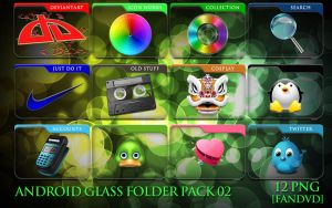 Android Glass Folder Icons 02 by fandvd