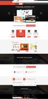 Graphics Designer Portfolio Web Design by vasiligfx