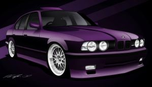Bmw e34 M5 by dazza-mate