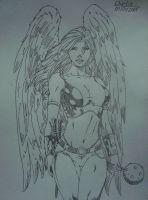 Hawkgirl by charlieinstein