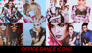 stylish girls icons by office-dance
