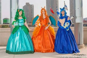 Pokemon Queens by StarsailorCosplay