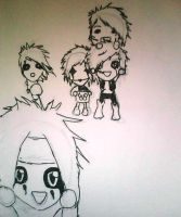 quick BVB chibi by thedarkness26
