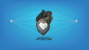 The Stone Heart Blue by FragOcon