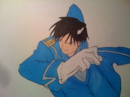 Roy Mustang by Mr-Yipster