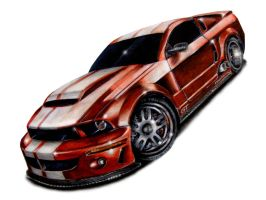 ford mustang gt by typerulez