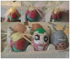 Easter eggs 2011 by MekareMadness