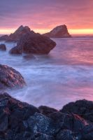 Another Saturday Night on the Oregon Coast II by sivousplay