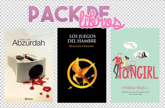 Pack de libros II by BornInThe90